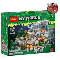 Bela 10735 Lari 10735 BLANK TM7421 7421 BLX 81062 81085 Decool 831 Jisi 831 LEDUO 76010 LELE 33067 LEPIN 18032 LEZI 93058 SHENG YUAN SY SY947 SX 1012 TENMA TM7417 7417 Xếp hình kiểu Lego MINECRAFT The