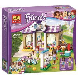 Sheng Yuan 834 SY834 Bela 10558 (NOT Lego Friends 41124 Heartlake Puppy Daycare ) Xếp hình Trường Dạy Thú Cưng Heartlake 308 khối