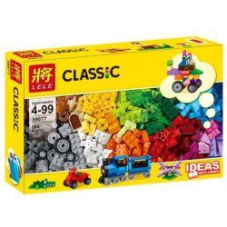 LELE 39077 LEPIN 42010 SHENG YUAN SY 963 SY963 Xếp hình kiểu Lego CLASSIC Medium Creative Brick Box Sáng Tạo Hộp Gạch Cỡ Vừa Hộp Giấy gồm 2 hộp nhỏ 550 khối