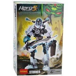 Decool 10305 Jisi 10305 XSZ KSZ 911 Xếp hình kiểu Lego HERO FACTORY STORMER Hero Factory Strike Thủ Lĩnh Stormer 69 khối