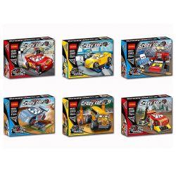 Decool 2901 2902 2903 2904 2905 2906 Cars Disney Cars Carfigs Xếp hình Bộ 6 Chiếc Xe Hoạt Hình gồm 6 hộp nhỏ 495 khối