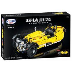 Winner 7065 Xếp hình kiểu Lego TECHNIC Morgen 3 Wheeler Three Rounds Of Classic Cars 1 8 Xe Hơi Cổ điển Ba Bánh 838 khối