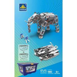 Kazi KJ30011 30011 Xếp hình kiểu Lego TECHNIC EV5 Technology Expansion Package Bản Mở Rộng 980 khối điều khiển từ xa