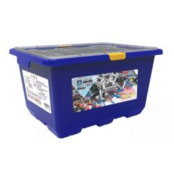 Kazi KJ30011 (NOT Lego Mindstorms EV3 Wedo 2.0 STEAM Ev5 Technology Expansion Package ) Xếp hình Bản Mở Rộng 980 khối