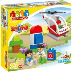 Jun Da Long Toys Jdlt 5170A (NOT Lego Duplo Medical Emergency ) Xếp hình Bé Tập Làm Bác Sĩ 23 khối