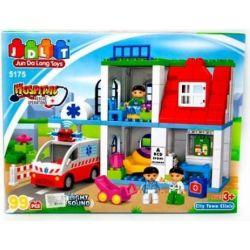 Jun Da Long Toys Jdlt 5175A (NOT Lego Duplo Medical Emergency Station ) Xếp hình Trạm Cấp Cứu Khẩn Cấp 99 khối