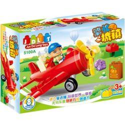 Jun Da Long Toys Jdlt 5100A (NOT Lego Duplo Engineering Training ) Xếp hình Bé Học Làm Kĩ Sư 8 khối