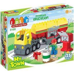 Jun Da Long Toys Jdlt 5109A (NOT Lego Duplo Fearful Plumbers ) Xếp hình Thợ Sửa Ống Nước Vui Nhộn 25 khối