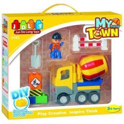 Jun Da Long Toys Jdlt 5185A (NOT Lego Duplo Little Dum Truck ) Xếp hình Xe Lu Nhỏ Nhắn