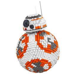 Lele 35020 (NOT Lego Star wars Bb-8 Ucs ) Xếp hình Robot Bb-8 2069 khối