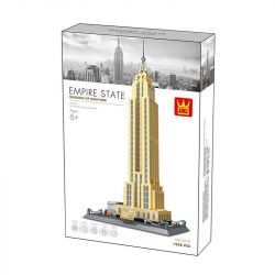 Wange 5212 (NOT Lego Building of New York The Empire State Building Of Newyork ) Xếp hình Tòa Nhà Chọc Trời New York 1938 khối