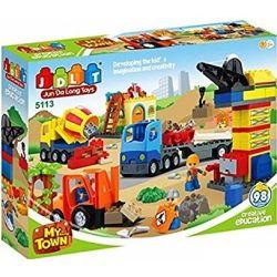 Jun Da Long Toys Jdlt 5113A (NOT Lego Duplo Projects For City In Future ) Xếp hình Dự Án Cho Thành Phố Tương Lai 98 khối