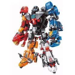 Enlighten 3601 3602 3603 3604 3605 (NOT Lego Transformers Animal Robot Transformation ) Xếp hình Robot Biến Hình gồm 5 hộp nhỏ lắp được 11 mẫu 1467 khối