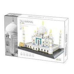WANGE DR.LUCK 5211 Xếp hình kiểu Lego MINI MODULAR The Taj Mahal Of Agra India Agra Ancient Thaj Mahal Ngôi Đền Thiêng Của Ấn Độ 1505 khối