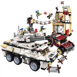 Enlighten 3209 Qman 3209 Xếp hình kiểu Lego ThunderMission Thunder Mission Thunder Assault War Nhiệm Vụ Sấm Sét 935 khối