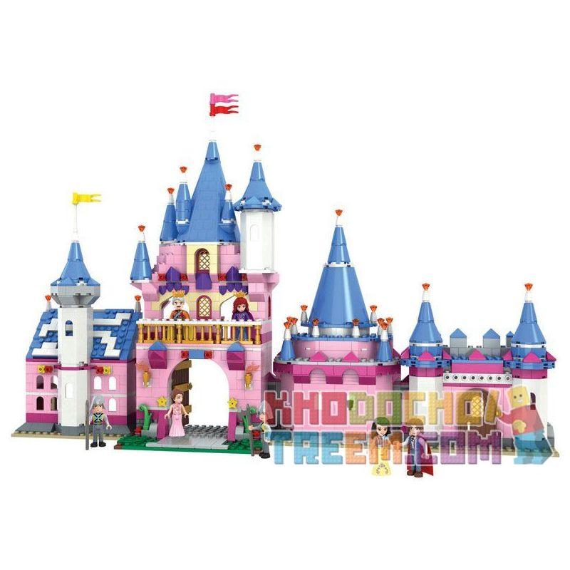 Winner 5006 Xếp hình kiểu Lego SNOW WHITE PRINCESS Wei Le Snow Princess Castle Lâu đài Của Công Chúa Và Hoàng Tử 900 khối