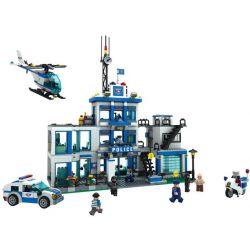 Winner 7006 (NOT Lego City Special Police Police Headquarters ) Xếp hình Trụ Sở Cảnh Sát Thành Phố 1208 khối