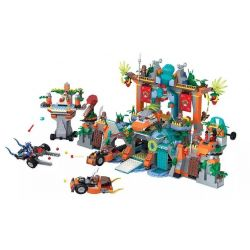 Winner 5042 (NOT Lego Fantasy Westward Journey Wukong Fantasy Westward Journey ) Xếp hình Thủy Liêm Động 1538 khối
