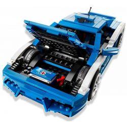 NOT Lego RACERS 8214 Lamborghini Polizia Lamborghini Police Car , YILE 008 Xếp hình Ô Tô Thể Thao Thời Thượng 801 khối