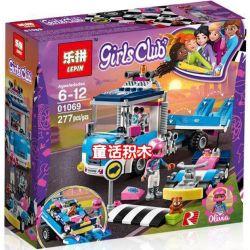 Lepin 01069 Sheng Yuan 1156 1188B Bela 11036 (NOT Lego Friends 41348 Service & Care Truck ) Xếp hình Xe Cứu Hộ 247 khối