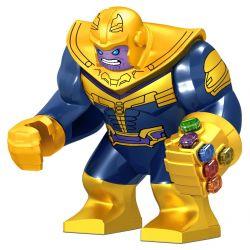 Lele D027 D052 D031 D032 Sheng Yuan 1099 SY1099 (NOT Lego Thanos Infinity Gauntlet ) Xếp hình Tên Độc Tài Thanos Và Găng Tay Vô Cực gồm 2 hộp nhỏ 674 khối
