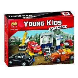 Bela 10686 Lari 10686 Decool 2906 Jisi 2906 SHENG YUAN SY SY778D 778D SY778G 778G SY938 Xếp hình kiểu Lego JUNIORS Smokey's Garage Racing Mobilization 3 Smokey Garage Gara ô Tô 116 khối