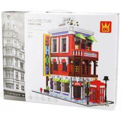 Wange 6311 Xếp hình kiểu LEGO Architecture Corner Store Cửa Hàng Góc Phố 2332 khối