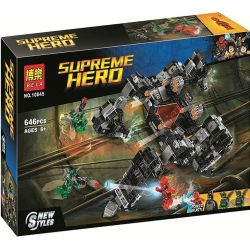 Bela 10845 Lari 10845 Xếp hình kiểu Lego DC COMICS SUPER HEROES Knightcrawler Tunnel Attack DC Expansion Universe Night Web Tunnel Attack Cuộc Tấn Công Dưới đường Hầm Knightcrawler 622 khối