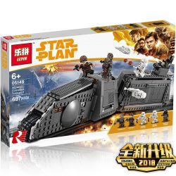 LEPIN 05149 Xếp hình kiểu Lego STAR WARS Imperial Conveyex Transport Solo Empire 20-T Rail Track Special Train Xe Vận Tải Bọc Thép 622 khối