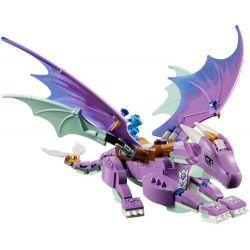 NOT Lego ELVES 41178 The Dragon Sanctuary Elf Feilong Reserve , Bela 10549 Lari 10549 Xếp hình Thánh địa Của Rồng 585 khối