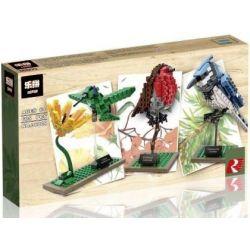 Lepin 36009 (NOT Lego Ideas 21301 Birds ) Xếp hình Những Chú Chim Nhỏ 580 khối