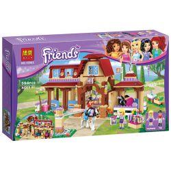 Bela 10562 Lari 10562 Xếp hình kiểu Lego FRIENDS Heartlake Riding Club Heart Lake Riding Club Cưỡi Ngựa Bên Hồ Trái Tim 575 khối