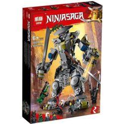 Bela 10937 Lari 10937 LEPIN 06084 Xếp hình kiểu THE LEGO NINJAGO MOVIE Oni Titan Hunted O'Neitan Cuộc Chiến Titan 522 khối