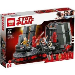 LEPIN 05148 Xếp hình kiểu Lego STAR WARS Snoke's Throne Room Throne Of Snuk Căn Phòng Của Chúa Tể Snoke 492 khối