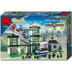Enlighten 110 (NOT Lego Town Baywatch 6636 Command Post Central ) Xếp hình Trung Tâm Chỉ Huy 466 khối