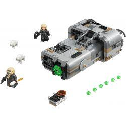 Bela 10911 (NOT Lego Star wars 75210 Moloch's Landspeeder ) Xếp hình Xe Thiết Giáp Của Moloch 464 khối