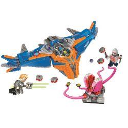 Bela 10748 Lari 10748 Xếp hình kiểu Lego MARVEL SUPER HEROES The Milano Vs. The Abilisk Galaxy Guards 2 Milan Space Battle Aberisk Cuộc Chiến Của Tàu Milano Và Abilisk 460 khối