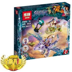 LEPIN 30017 Xếp hình kiểu Lego ELVES Aira & The Song Of The Wind Dragon Elf Elas And Wind Dragon Songs Aira Và Bài Ca Của Rồng Gió 451 khối