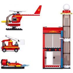 SLUBAN M38-B068 B068 M38B068 38-B068 Xếp hình kiểu Lego CITY Biệt đội Cứu Hỏa 425 khối