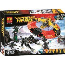 Bela 10747 (NOT Lego Marvel Super Heroes 76084 The Ultimate Battle For Asgard ) Xếp hình Trận Chiến Cuối Cùng Tại Asgard 400 khối
