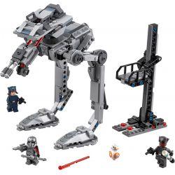 Bela 10912 Lari 10912 Xếp hình kiểu Lego STAR WARS First Order AT-ST Robot Do Thám AT-ST 370 khối