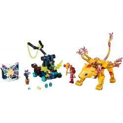 NOT Lego ELVES 41192 Azari & The Fire Lion Capture Elf Astoli With The Flaming Lion , LEPIN 30016 Xếp hình Azari Và Chú Sư Tử Lửa 360 khối