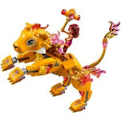 LEPIN 30016 Xếp hình kiểu Lego ELVES Azari & The Fire Lion Capture Elf Astoli With The Flaming Lion Azari Và Chú Sư Tử Lửa 360 khối