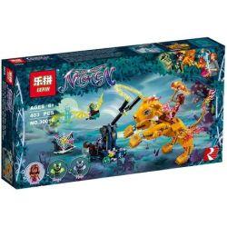 Lepin 30016 (NOT Lego Elves 41192 Azari & The Fire Lion Capture ) Xếp hình Azari Và Chú Sư Tử Lửa 360 khối