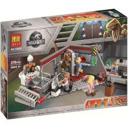 Bela 10924 Lele 39114 (NOT Lego Jurassic World 75932 Jurassic Park Velociraptor Chase ) Xếp hình Cuộc Rượt Đuổi Khủng Long Velociraptor 360 khối