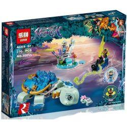 Lepin 30015 (NOT Lego Elves 41191 Naida & The Water Turtle Ambush ) Xếp hình Naida Phục Kích Rùa Nước 205 khối