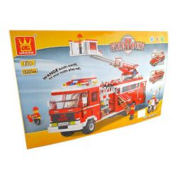 WANGE 40021N Xếp hình kiểu Lego CITY Fire Truck Xe cứu hỏa 1395 khối
