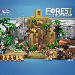 XINGBAO XB-15006 15006 XB15006 Xếp hình kiểu Lego FOREST ADVENTURE Jungle Adventure Mysterious Ancient City Thành Phố Cổ Bí Hiểm 1280 khối