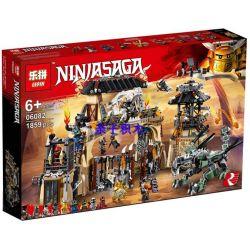 Lepin 06082 Bela 10940 Sheng Yuan 1132 SY1132 (NOT Lego Ninjago Movie 70655 Dragon Pit ) Xếp hình Vũ Trường Đấu Rồng 1660 khối