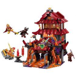 Enlighten 3807 Qman 3807 Xếp hình kiểu Lego MONKIE KID WUKONG Journey To The West Fierce Hỏa Diệm Sơn 1073 khối